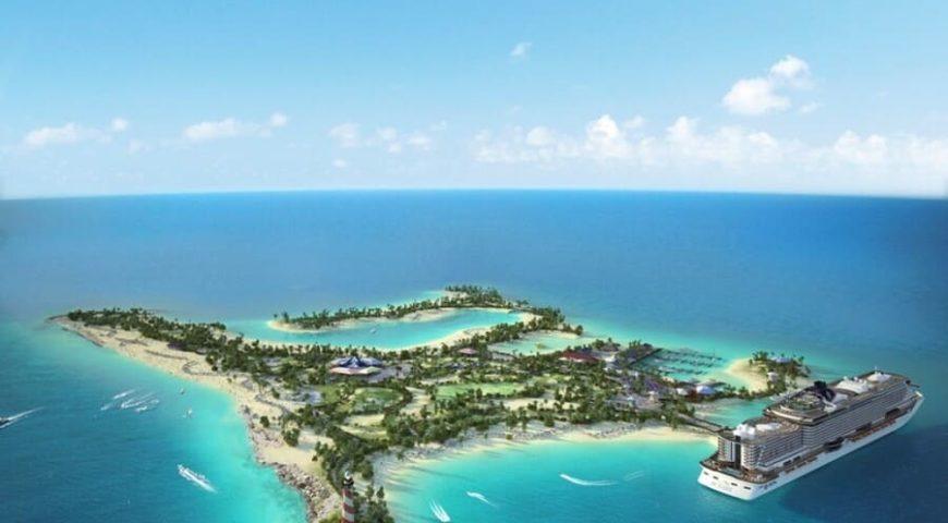 Bahamas stränder