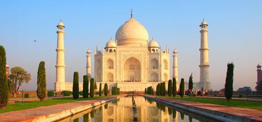Taj Mahal i Indien